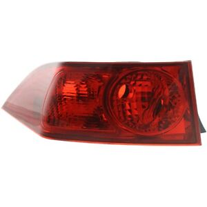 Tail Light For 2004 2005 Acura Tsx Lh Outer