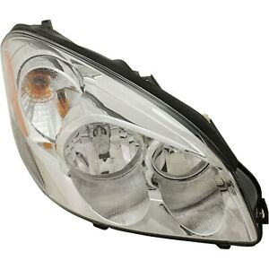 Headlight For 2006 11 Buick Lucerne Cxl 2008 11 Lucerne Cx Super Right With Bulb