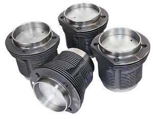 Vw Air Cooled Mahle Forged Piston Cyl Set 94mm X 69mm Stroke 98 1994 b