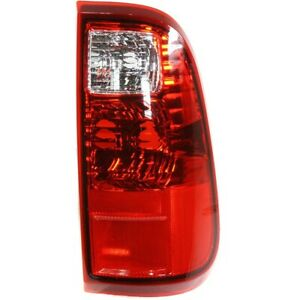 Tail Light For 2008 2016 Ford F 250 Super Duty Xl Rh Clear Red Lens