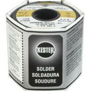 Kester 24 6337 8807 No clean 245 Solder Wire 020 Dia Core Size 50 New
