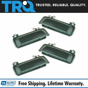 Trq Outer Outside Exterior Door Handle 4 Piece Set For Ford Explorer Mountaineer