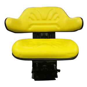 New Multi Angle Yellow Wrap Around Seat Lawn Garden Tractor Mower Industrial