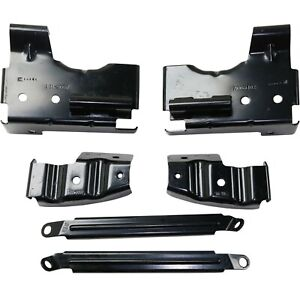Bumper Bracket For 2003 2006 Gmc Sierra 1500 Old Body Style Set Of 6 Front