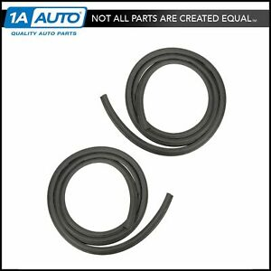 Front Body Mounted Door Seal Weatherstrip Rubber Pair Set For Ranger B2300 2 Dr