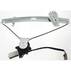 Power Window Regulator For 98 2002 Honda Accord Front Driver Side With Motor