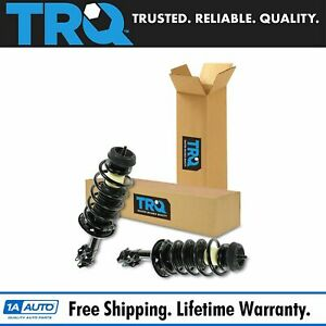 Trq Complete Front Strut Spring Assembly Pair Set Of 2 Kit For Vw Jetta Golf