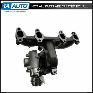 Diesel Turbocharger Turbo W Exhaust Manifold For Vw Beetle Golf Jetta Tdi 1 9l