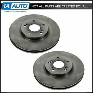 Nakamoto Front Brake Rotor Pair Set For Acura 3 2 Tl Cl Mdx Accord Coupe Pilot