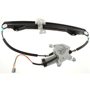 Power Window Regulator For 2002 2010 Ford Explorer Rear Driver Side With Motor