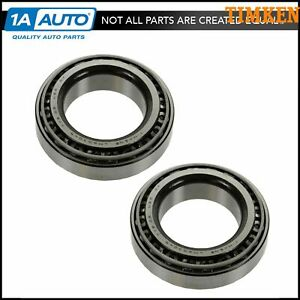 Timken Wheel Hub Bearing Race Pair For Chevy Dodge Ford Gmc Jeep Mazda Nissan