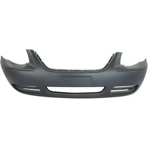 Front Bumper Cover For 2005 2007 Chrysler Town Country Primed