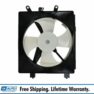 Ac A c Condenser Radiator Cooling Fan Assembly New For Honda Civic