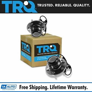 Trq Front Wheel Bearing Hub Assembly Pair For Chevy Gmc Pickup Truck 2wd Van