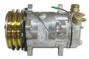 72162168 Sanden Style Air A c Compressor For Allis Chalmers Tractor With Clutch
