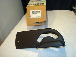 Trim Cover Seat Rh Ebony 12459630 Oem Nos New Gm Chevy Olds Buick Pontiac D4