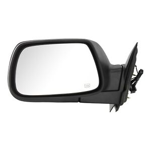 Power Mirror For 2005 2010 Jeep Grand Cherokee Driver Side Heated Textured Black