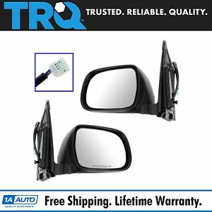Power Heated Side View Door Mirrors Left Right Pair Set For 04 10 Toyota Sienna