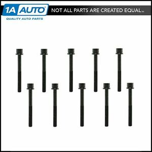 Engine Cylinder Head Bolt Set Of 8 For Daewoo Isuzu Rodeo Suzuki Forenza Reno