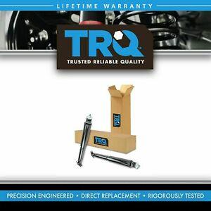 Trq Shock Absorbers Front Left Lh Right Rh Pair Set For 97 06 Jeep Wrangler
