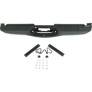 Powdercoated Black Steel Bumper Assembly For 1999 2007 Ford F250 F350 Super Duty