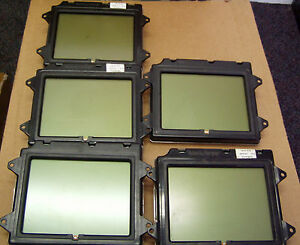 Lot Of 5 Gilbarco Q13908 06 5 6 Monochrome Display For Advantage Dispensers