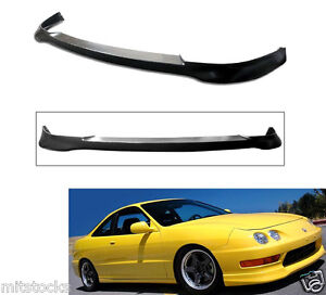 Usdm 98 01 Integra Dc2 2 4 Door Type R Pu Black Add on Front Bumper Lip Spoiler