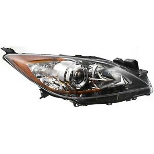 Headlight For 2010 2011 2012 2013 Mazda 3 Hatchback Or Sedan Right