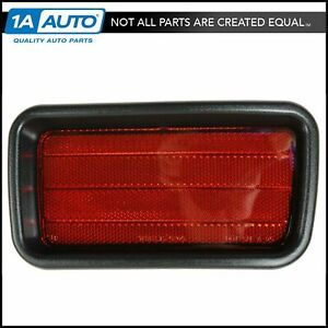 Bumper Reflector Right Passenger Side Rh Rear For 00 04 Montero Sport