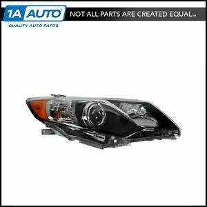 Headlight Headlamp Passenger Side Right Hand Rh New For 12 13 Toyota Camry Se