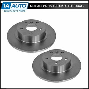 Nakamoto Rear Disc Brake Rotors Pair Set Of 2 For Land Rover Discovery New