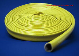 Yellow Heat Protector Silicone Spark Plug Wire Sleeve 25 Made In The Usa