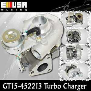 Emusa Turbo Charger Gt15 T15 Motorcycle Atv Bike Small Engine 2 4 Cyln