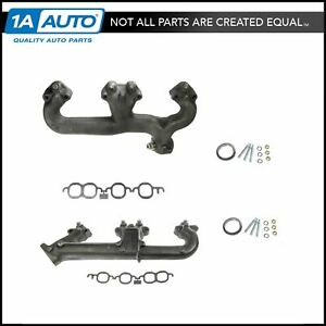 Dorman Exhaust Manifold Pair Set For Chevy Gmc Pickupbuick Pontiac Olds V8
