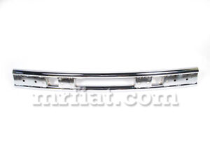 Fiat 124 Spider Rear Chrome Bumper 1975 85 Oem New