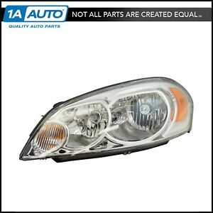 Headlight Headlamp Driver Side Left Lh For Chevy Impala Monte Carlo