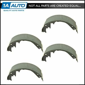 Rear Drum Brake Shoes Kit Set For Chevy Gmc Pickup Truck Van Suburban