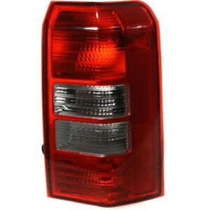 Tail Light For 2008 2016 Jeep Patriot Passenger Side Assembly