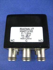 Radiall R562713162 0 1 Ghz 28v Rf Coaxial Switch