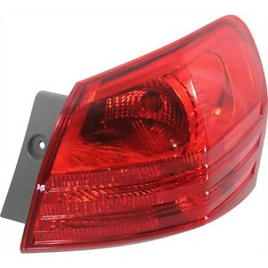 Tail Light For 2008 2013 Nissan Rogue 2014 2015 Rogue Select Passenger Side