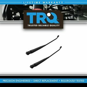 Trq Front Windshield Wiper Arms Set Kit For Ford Bronco F series Pickup Truck