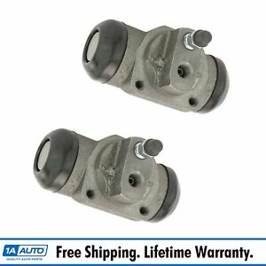 Rear Wheel Brake Cylinder Driver Passenger Pair For 88 00 Gm Truck Suv Blazer