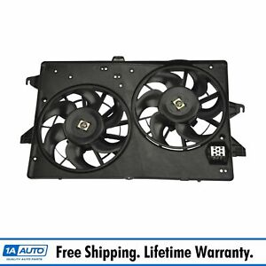 Dual Radiator A c Air Conditioning Cooling Fan For Contour Cougar Mystique