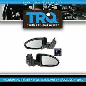 Side View Mirrors Power Heated Paint To Match Pair Set For 11 16 Chevy Cruz