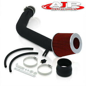 Cold Air Intake Piping Kit System Pipe Black For 2003 2007 Honda Accord V6 3 0l