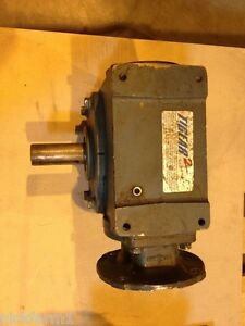 Dodge Tigear Right Angle Worm Gearbox Reducer Model 35q50l56 2 7 8