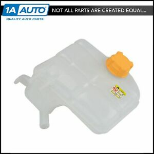 Radiator Fluid Overflow Bottle Reservoir Tank With Cap For 00 07 Ford Focus