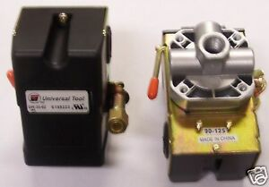 Air Compressor Pressure Switch 95 Psi To 125 Psi