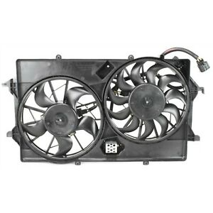 Dual Cooling Fan Assembly For 2005 2007 Ford Focus 2 0l 2 3l Engine W A c