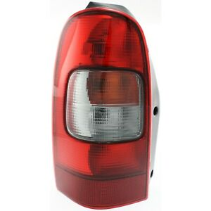 Tail Light For 97 05 Chevrolet Venture 99 05 Pontiac Montana Driver Side